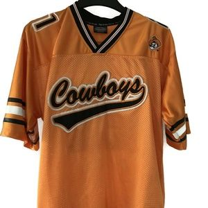 Oklahoma State Cowboys Football Orange Jersey #21